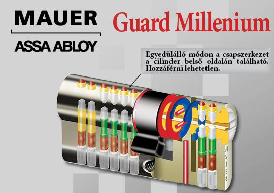 Guard Millenium zárbetét
