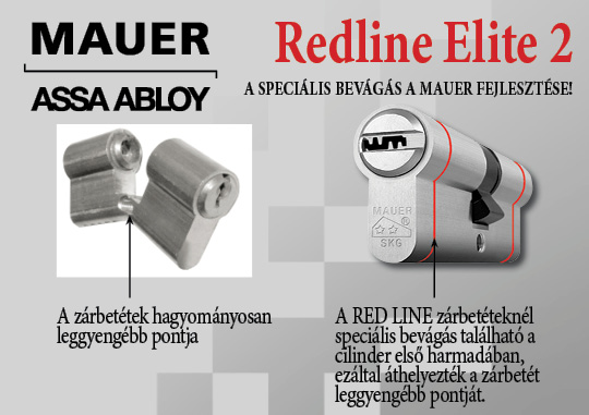 Red Line Elite speciális zárbetét
